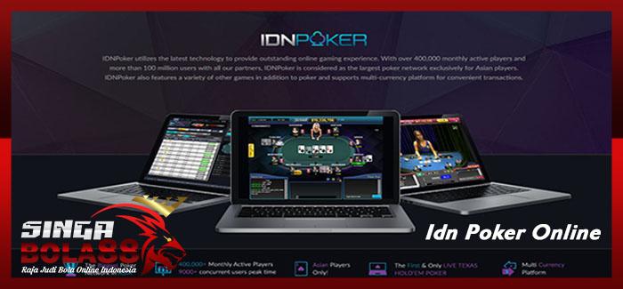 Idn Poker Online Terpercaya Di Indonesia | Singabola88