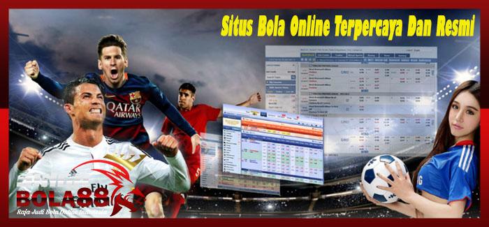 Situs Bola Online Terpercaya Dan Resmi